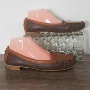Lucky Brand Loafers Corral Brown Tan 9